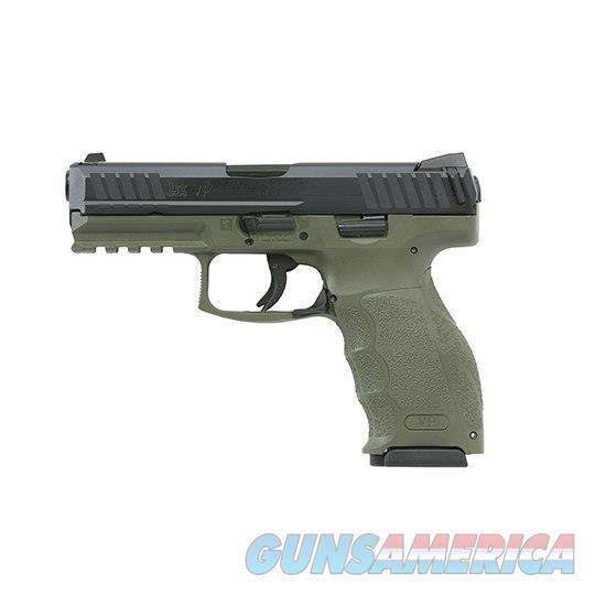 Heckler & Koch Vp9 9Mm Od Green (2) 15Rd M700009GR-A5  Guns > Pistols > H Misc Pistols
