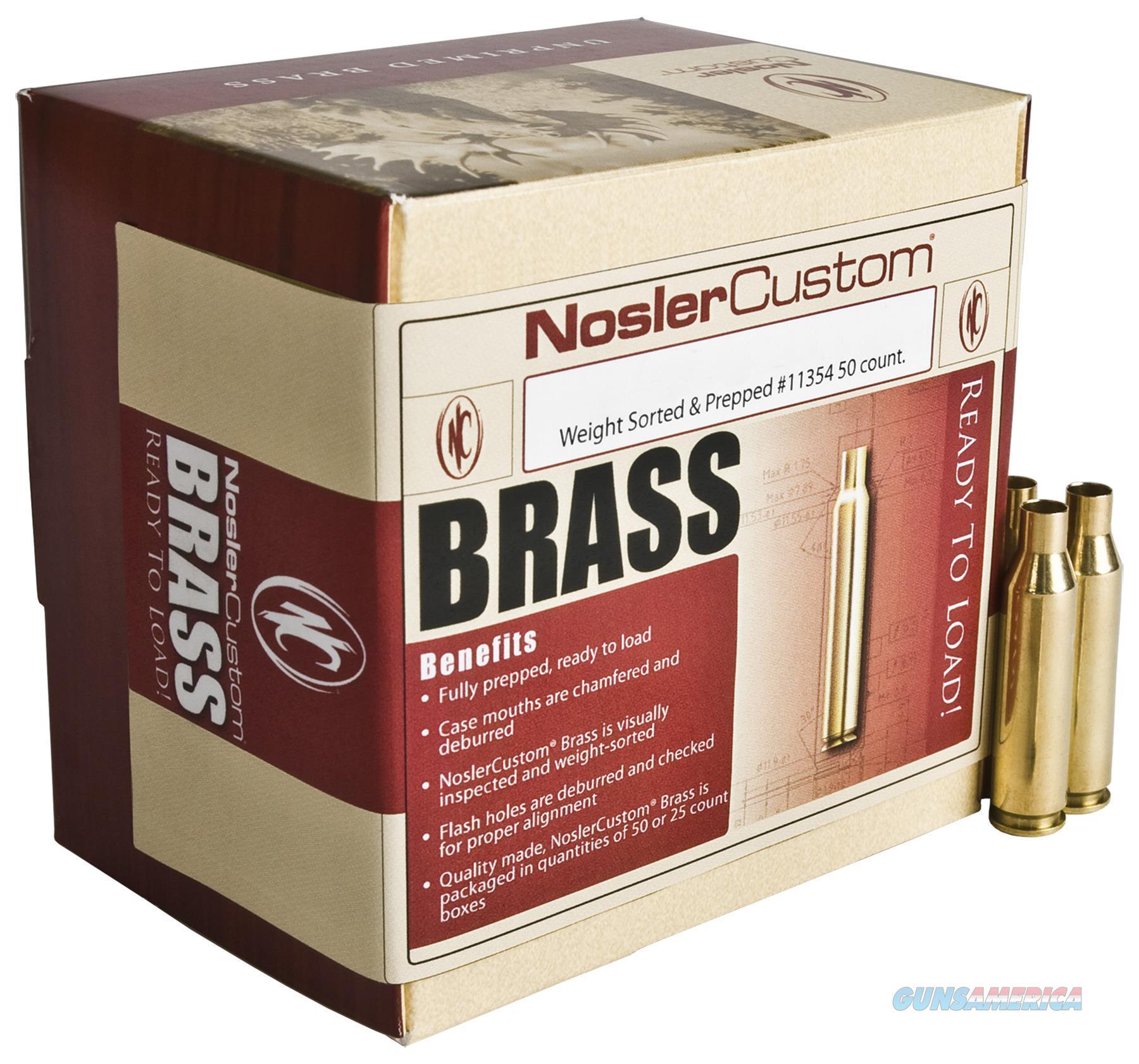 Nosler 11914 Brass Nosler 338 Lapua 11914  Non-Guns > Reloading > Components > Brass