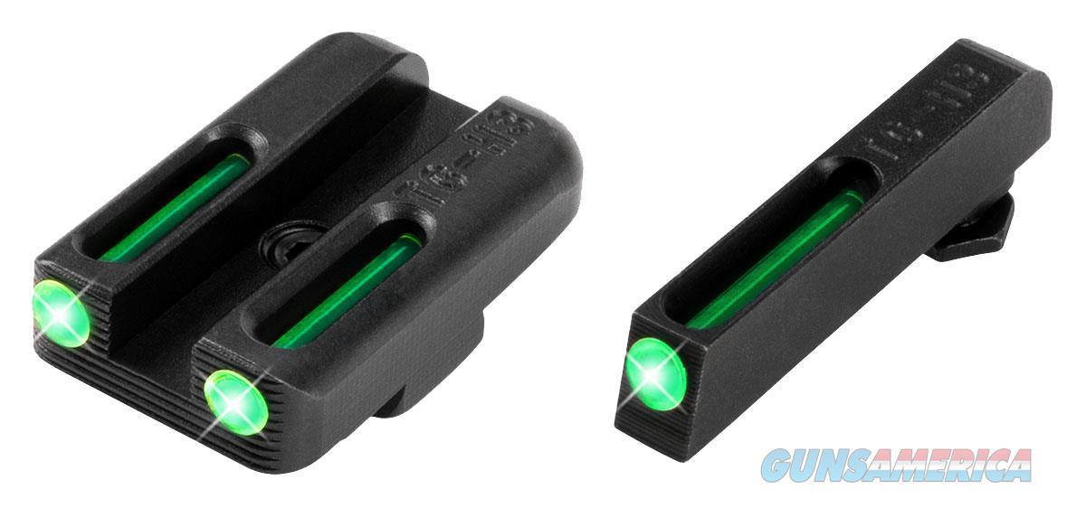 Truglo Tg131gt1a Brite-Site Tfo Glock 42/43 Tritium/Fiber Optic Green Black TG131GT1A  Non-Guns > Iron/Metal/Peep Sights