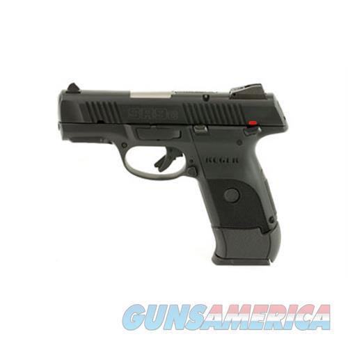 """Ruger 3314 Sr9c Compact Double 9Mm Luger 3.4"""" 17+1 Black Polymer Grip/Frame Grip Black Nitride 3314  Guns > Pistols > R Misc Pistols"""