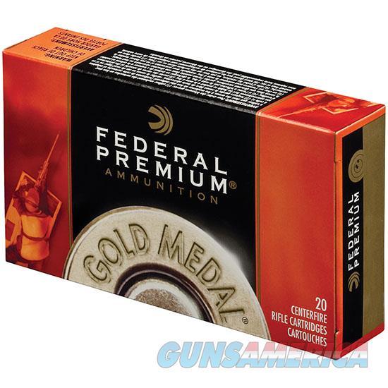 Federal Gold Medal 338Lap 250Gr Matchking Bthp 20/ 029465061128  Non-Guns > Ammunition