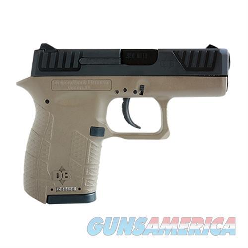 "Diamondback Db380fde Micro-Compact Dao 380Acp 2.8"" 6+1 Fde Poly Grip/Frame Blk DB380FDE  Guns > Pistols > D Misc Pistols"
