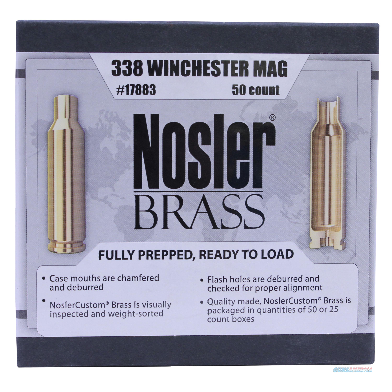 Nosler Custom Reloading Brass 17883  Non-Guns > Reloading > Components > Brass