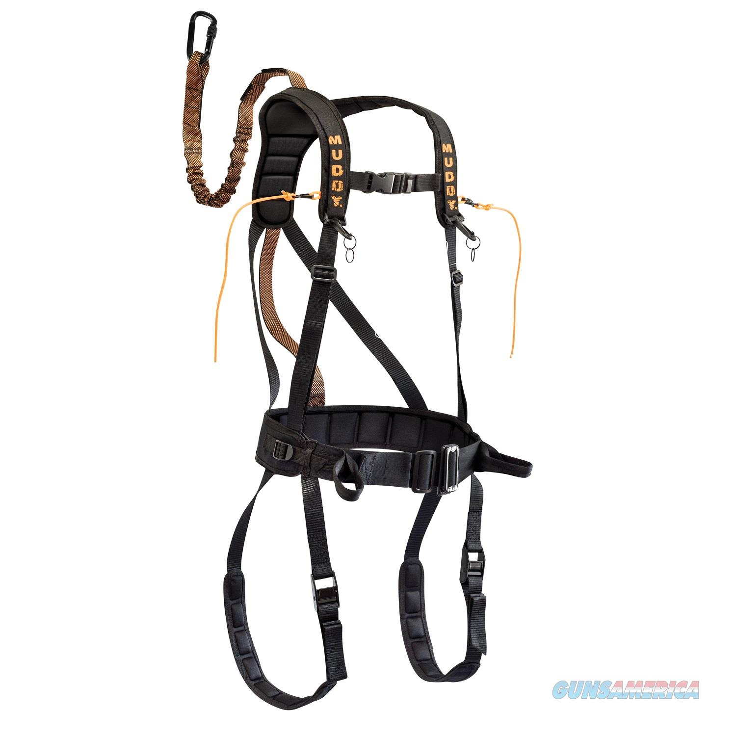Muddy Safeguard Harness - Black L MSH400  Non-Guns > Gun Parts > Misc > Rifles
