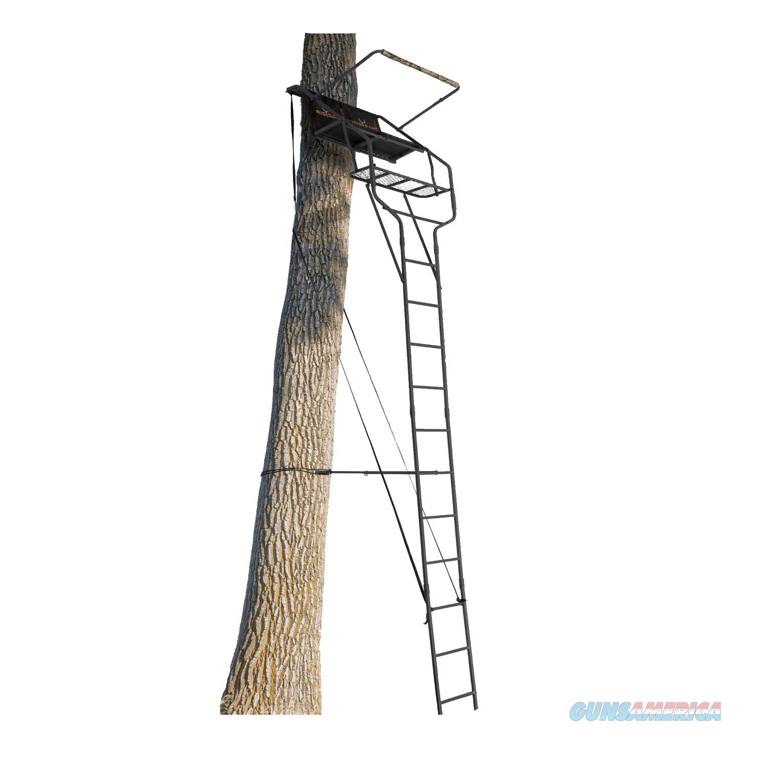 Big Game 18Ft Traverse Two-Person Ladderstand LS4750  Non-Guns > Hunting Clothing and Equipment > Tree Stands