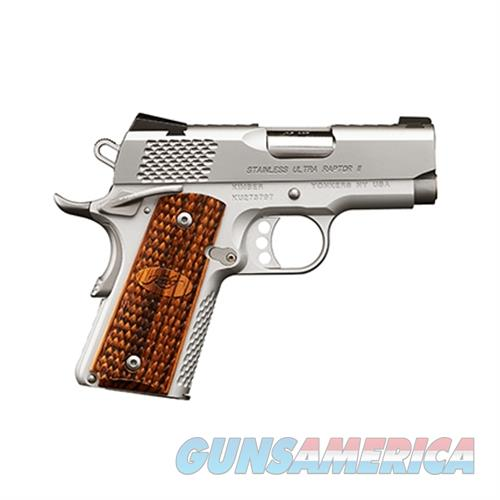 Kimber Ss Ultra Raptor Ii 9Mm KIM3200374  Guns > Pistols > K Misc Pistols