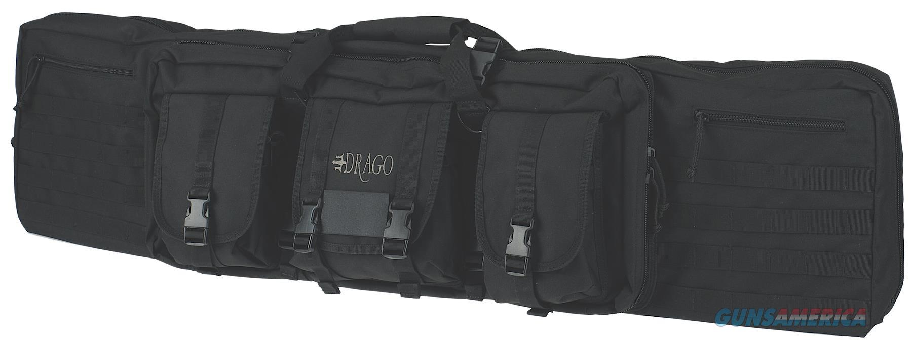 """Drago Gear 12-304Bl Single Gun Case 47"""" X 14"""" X 10"""" Exterior 600D Polyester Black 12-304BL  Non-Guns > Gun Cases"""