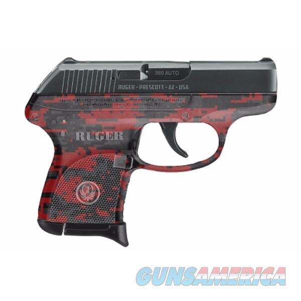 NIB Ruger LCP Red Digital Camo 380 ACP 6+1 Mod 03749  Guns > Pistols > Ruger Semi-Auto Pistols > LCP