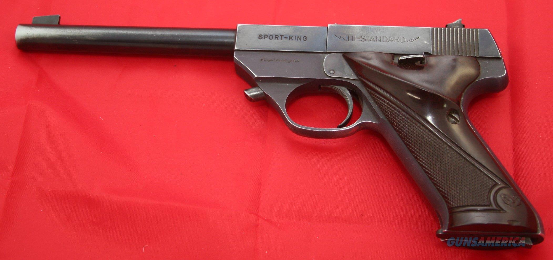 High Standard Sport King Lightweight Model SK-100 Semi-Auto Pistol C&R .22 LR  Guns > Pistols > High Standard Pistols