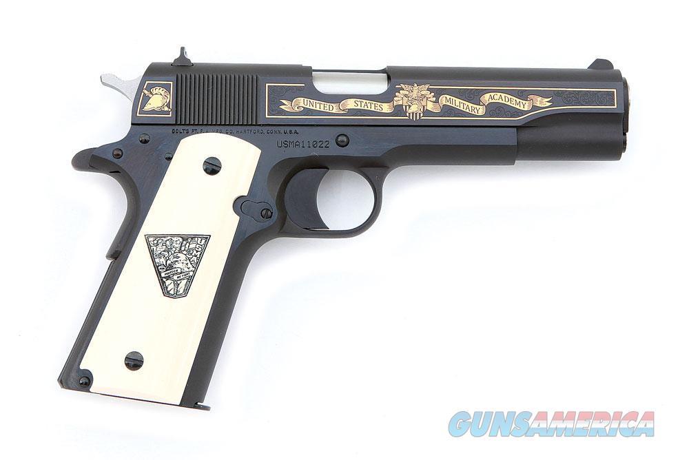 2011 Colt Custom M1991A1 1991-A1 1991A1 USMA gold engraved commemorative 1911 in .45 ACP  Guns > Pistols > Colt Automatic Pistols (1911 & Var)