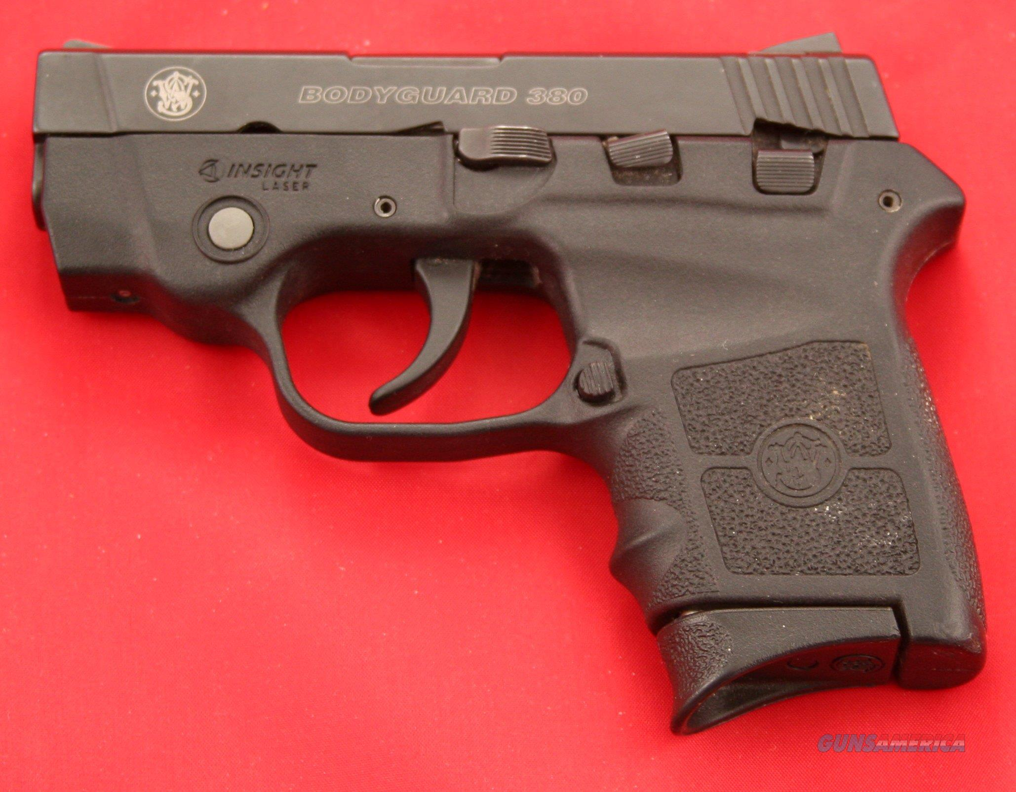 LIKE NEW Smith & Wesson Bodyguard 380 With 2 5/8 In. Barrel And Laser Sight  .380 ACP  Guns > Pistols > Smith & Wesson Pistols - Autos > Polymer Frame