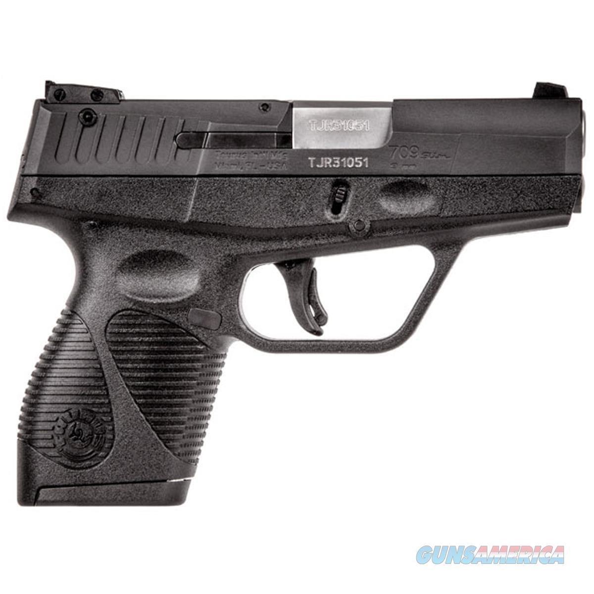 TAURUS 709 SLIM 9MM NIB FREE SHIPPING  Guns > Pistols > Taurus Pistols > Semi Auto Pistols > Polymer Frame
