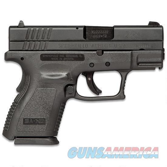 SPRINGFIELD ARMORY XD9 SUB COMPACT NIB FREE SHIPPING  Guns > Pistols > Springfield Armory Pistols > XD (eXtreme Duty)