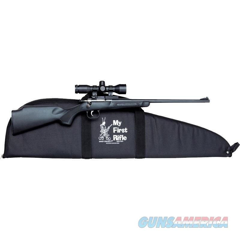 CRICKETT .22 YOUTH RIFLE PACKAGE NIB FREE SHIPPING  Guns > Rifles > Crickett-Keystone Rifles