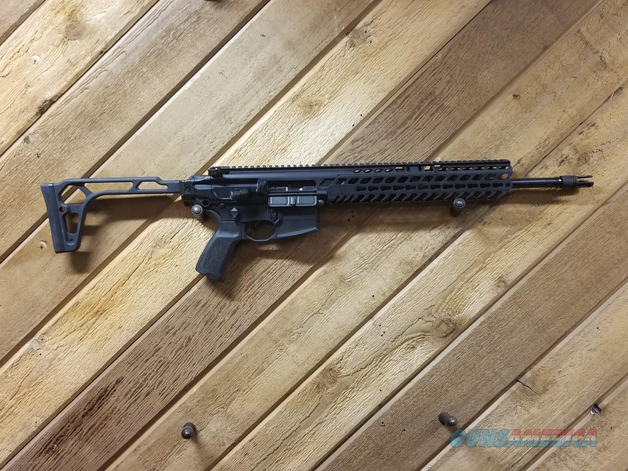 SIG SAUER MCX 300BLK USED SHIPS FREE NO CC FEE  Guns > Rifles > Sig - Sauer/Sigarms Rifles