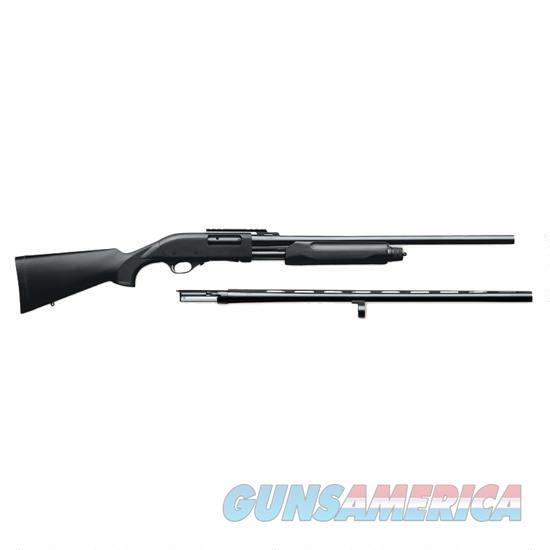 WEATHERBY P-08 SLUG COMBO, 2 BARRELS!!! NIB FREE SHIPPING  Guns > Shotguns > Weatherby Shotguns > Pump