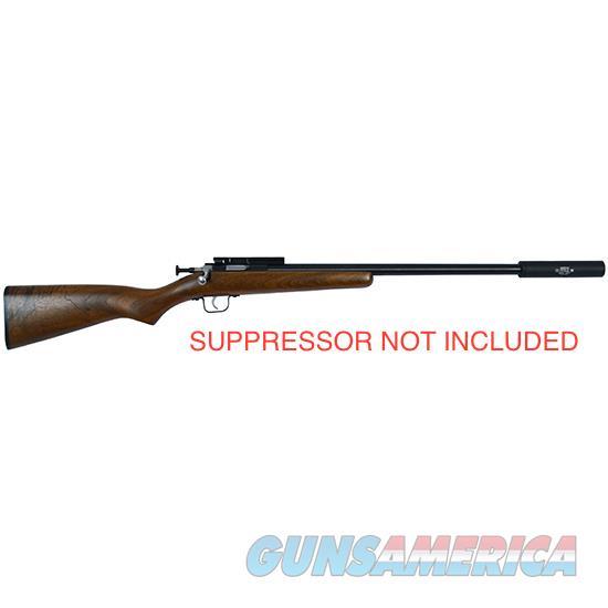 CRICKETT .22 YOUTH RIFLE THREADED BULL BARREL NIB FREE SHIPPING  Guns > Rifles > Crickett-Keystone Rifles