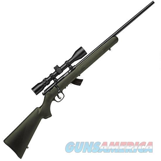 SAVAGE MK-II XP GREEN SYNTHETIC STOCK SCOPE INCLUDED NIB FREE SHIPPING  Guns > Rifles > Savage Rifles > Rimfire