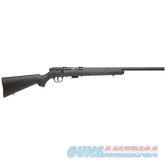 SAVAGE 93FV BLACK SYNTHETIC BULL BARREL NIB FREE SHIPPING  Guns > Rifles > Savage Rifles > Rimfire