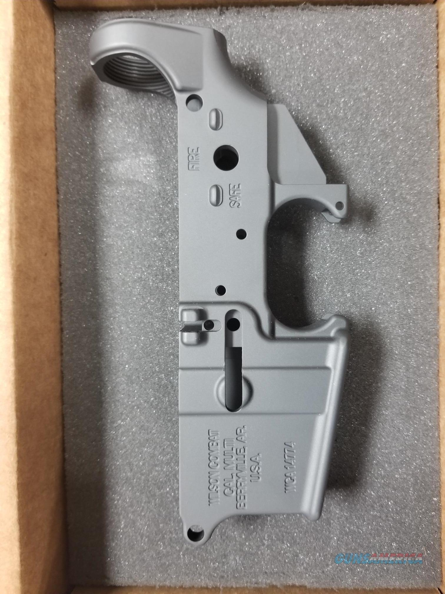 WILSON COMBAT TR- LOWER CERAKOTE SILVER  Guns > Rifles > AR-15 Rifles - Small Manufacturers > Lower Only