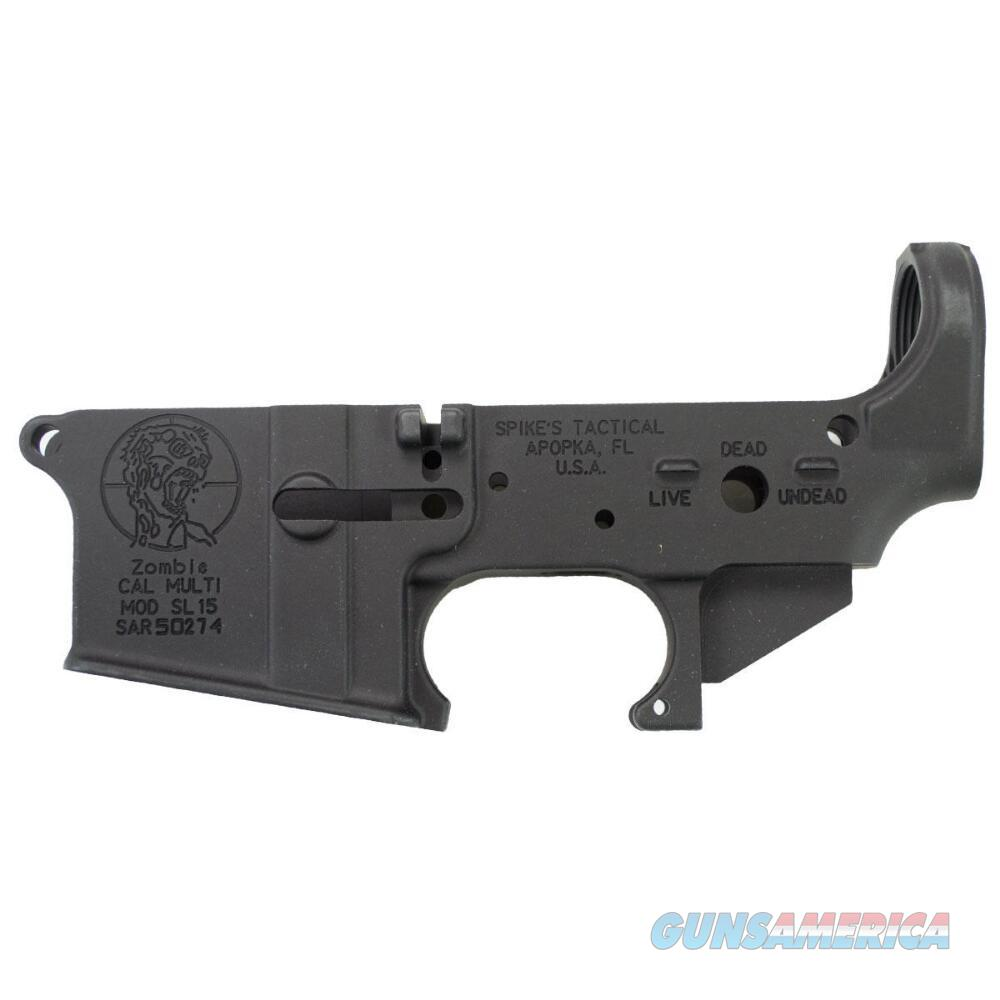 SPIKES TACTICAL ST15 ZOMBIE AR LOWER NIB FREE SHIPPING   Guns > Rifles > AR-15 Rifles - Small Manufacturers > Lower Only