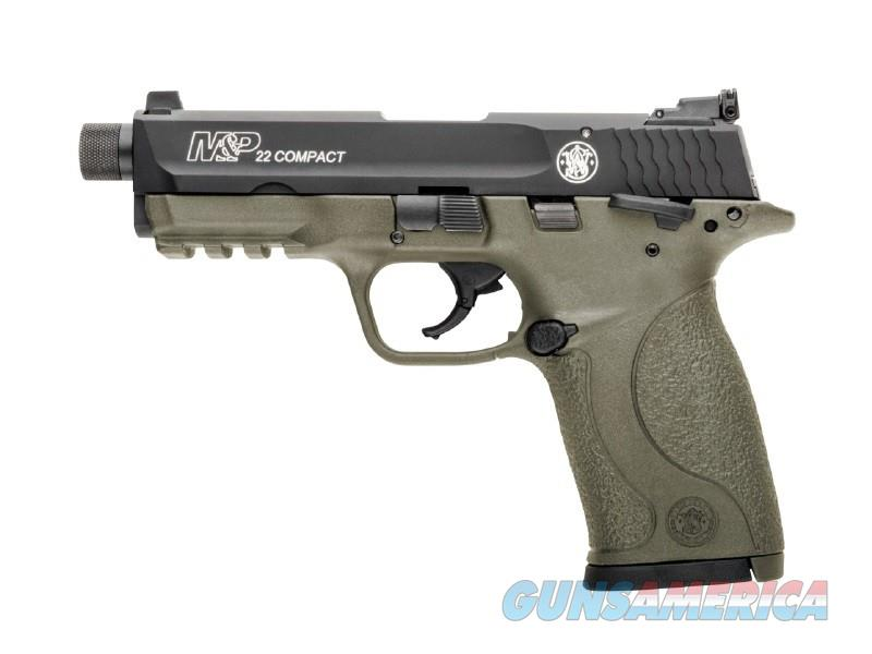 SMITH & WESSON M&P22C FDE THREADED NIB FREE SHIPPING!!!  Guns > Pistols > Smith & Wesson Pistols - Autos > .22 Autos