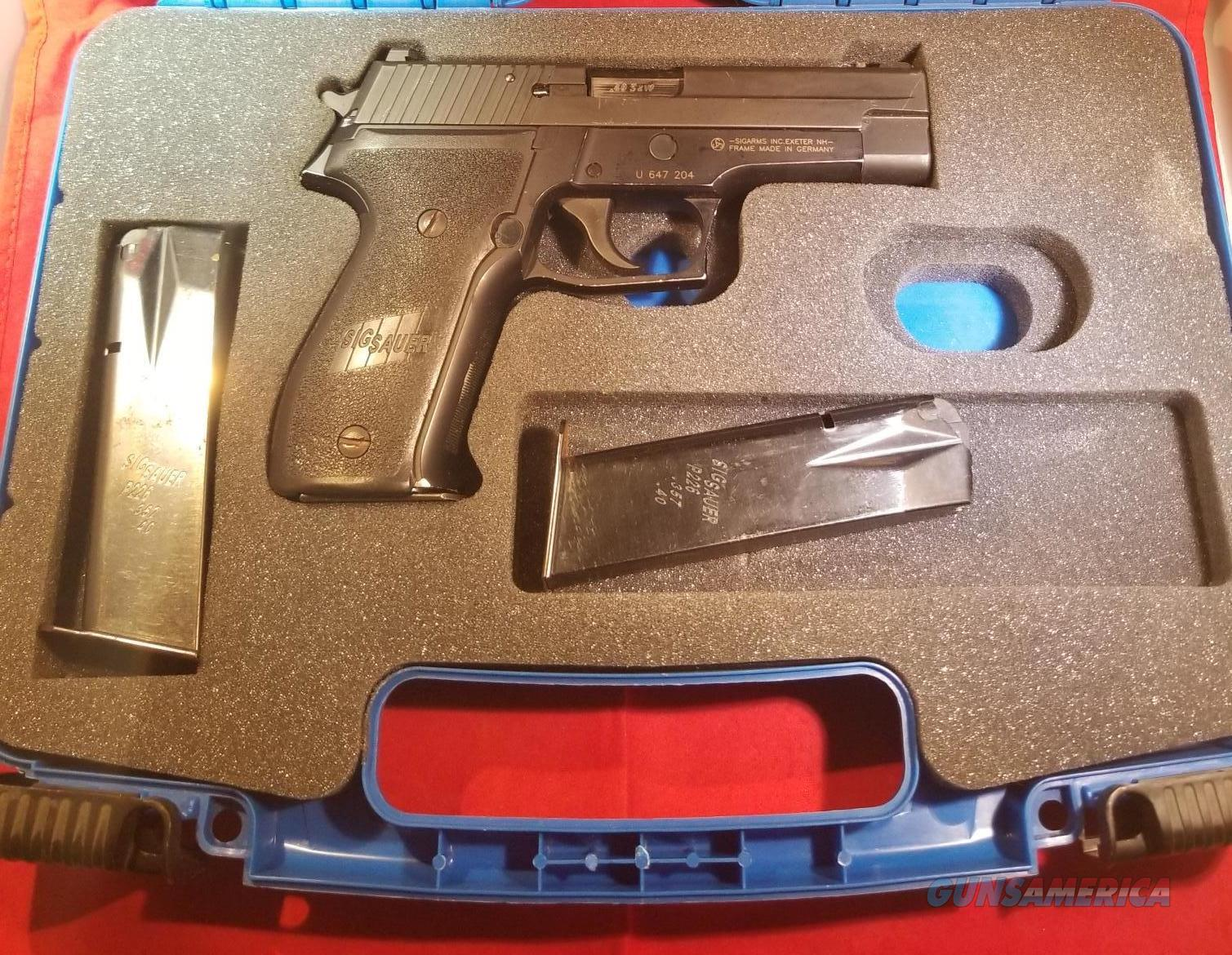 USED SIG SAUER 226 .40S&W W/ LASERMAX NO CC FEES FREE SHIPPING!!!!  Guns > Pistols > Sig - Sauer/Sigarms Pistols > P226