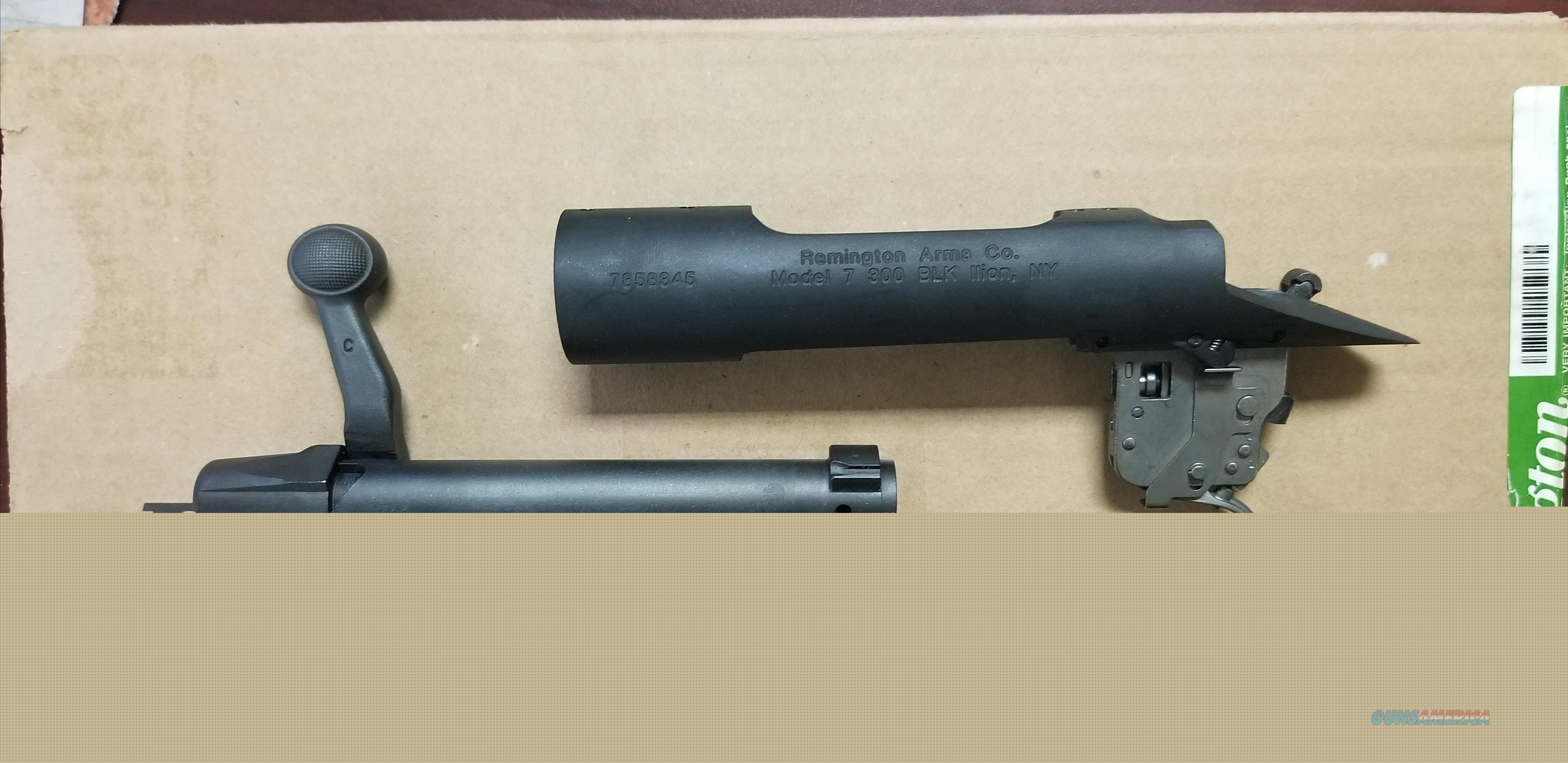 REMINGTON 700 RECIVER/ACTION W/ BOLT .300BLK NIB FREE SHIPPING  Guns > Rifles > Remington Rifles - Modern > Other