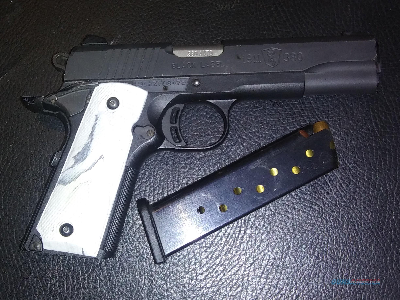 Black Label  Guns > Pistols > 1911 Pistol Copies (non-Colt)