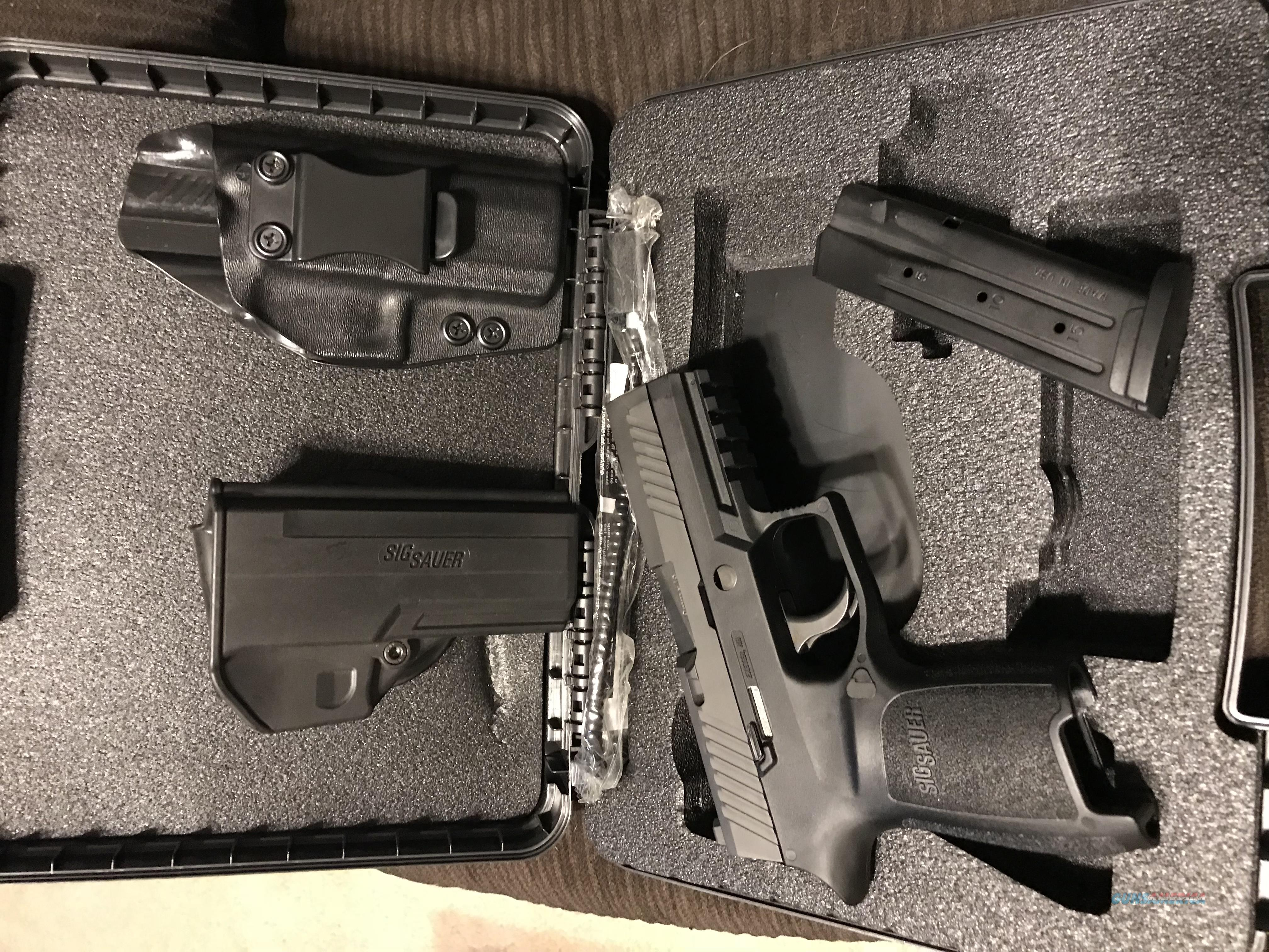 Sig P320 Compact with two holsters   Guns > Pistols > Sig - Sauer/Sigarms Pistols > P320