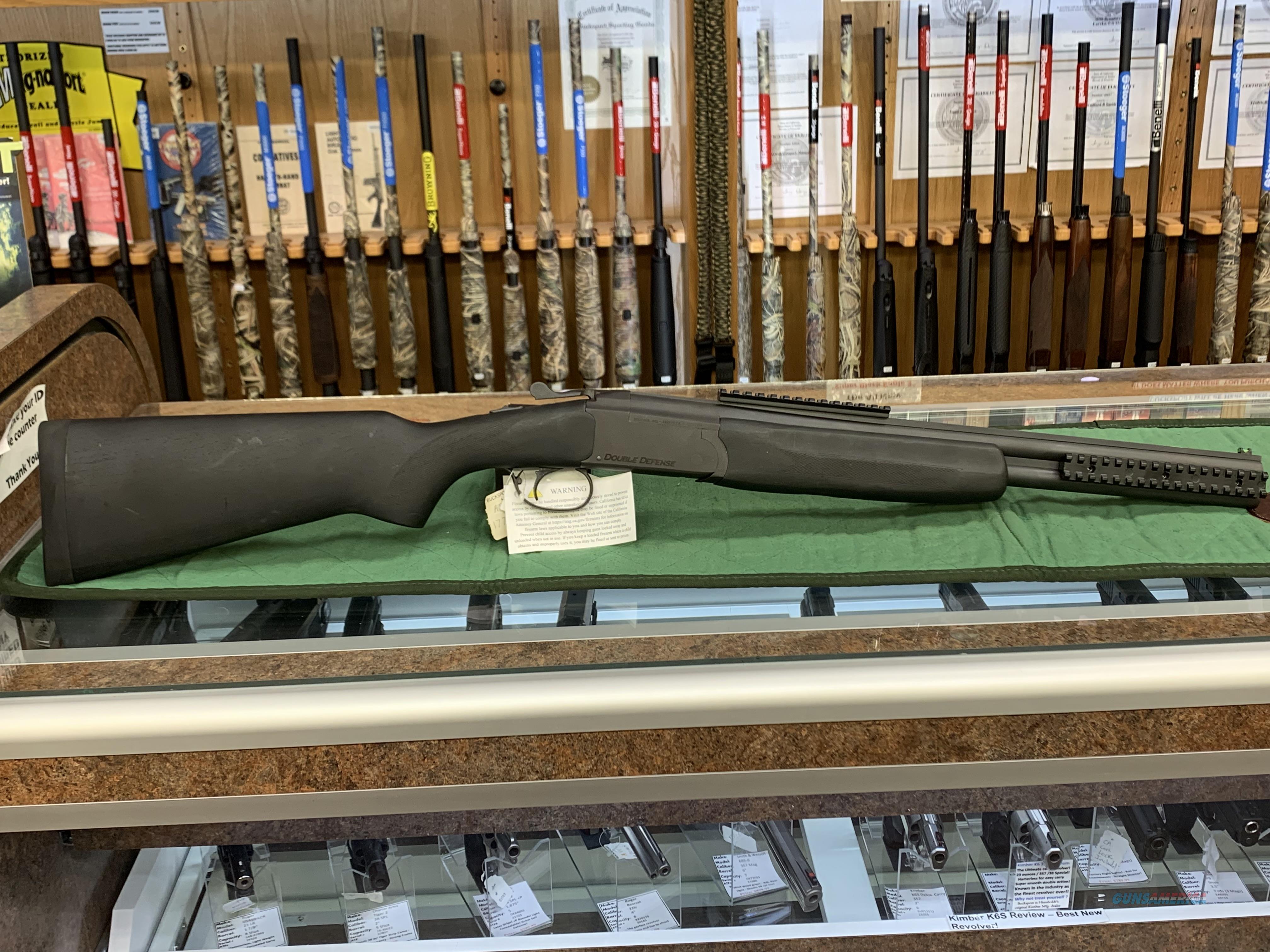 Stoeger Double Defense 20 ga  Guns > Shotguns > Stoeger Shotguns