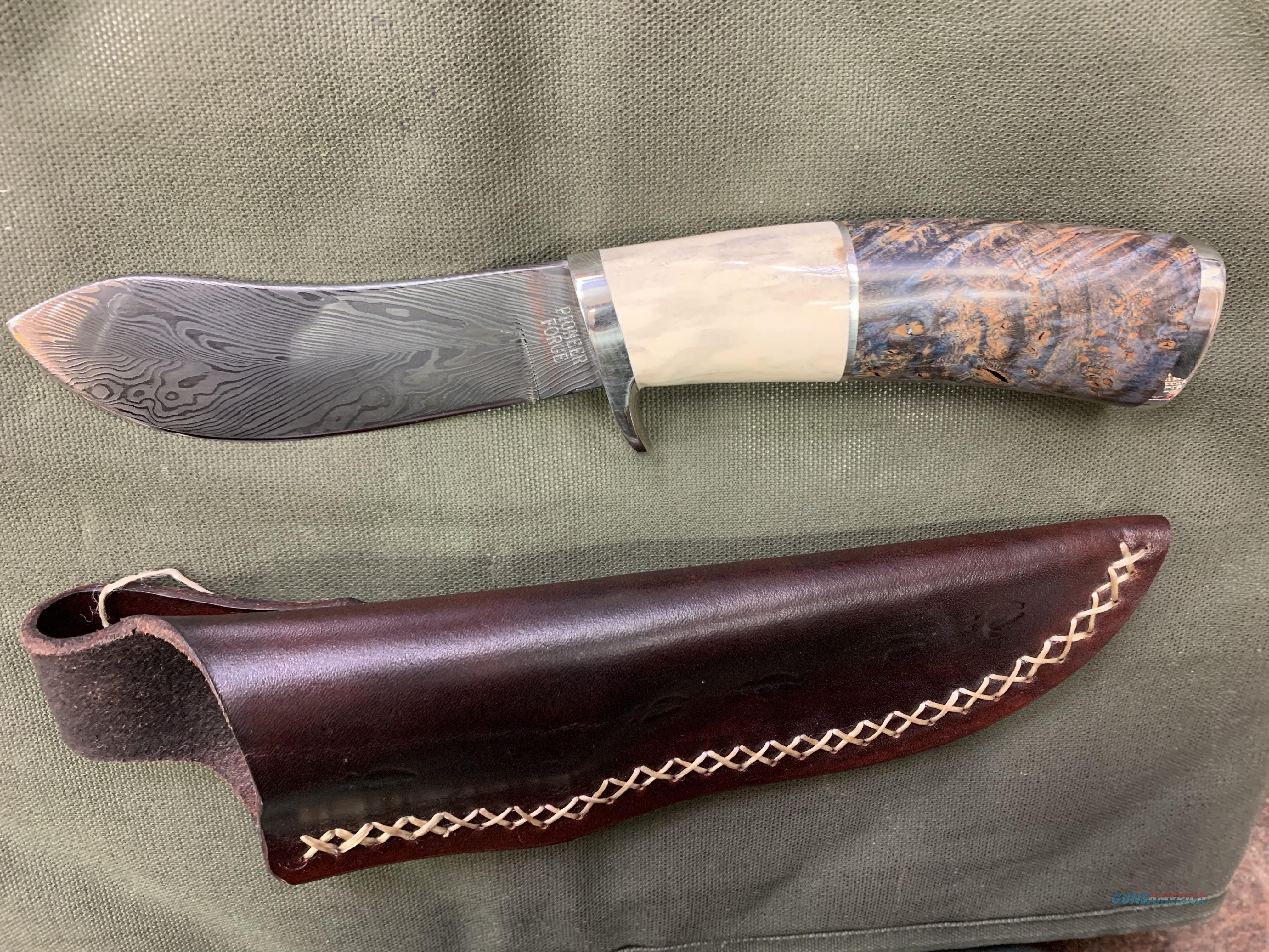 Pioneer Forged Customs  Non-Guns > Knives/Swords > Knives > Fixed Blade > Hand Made