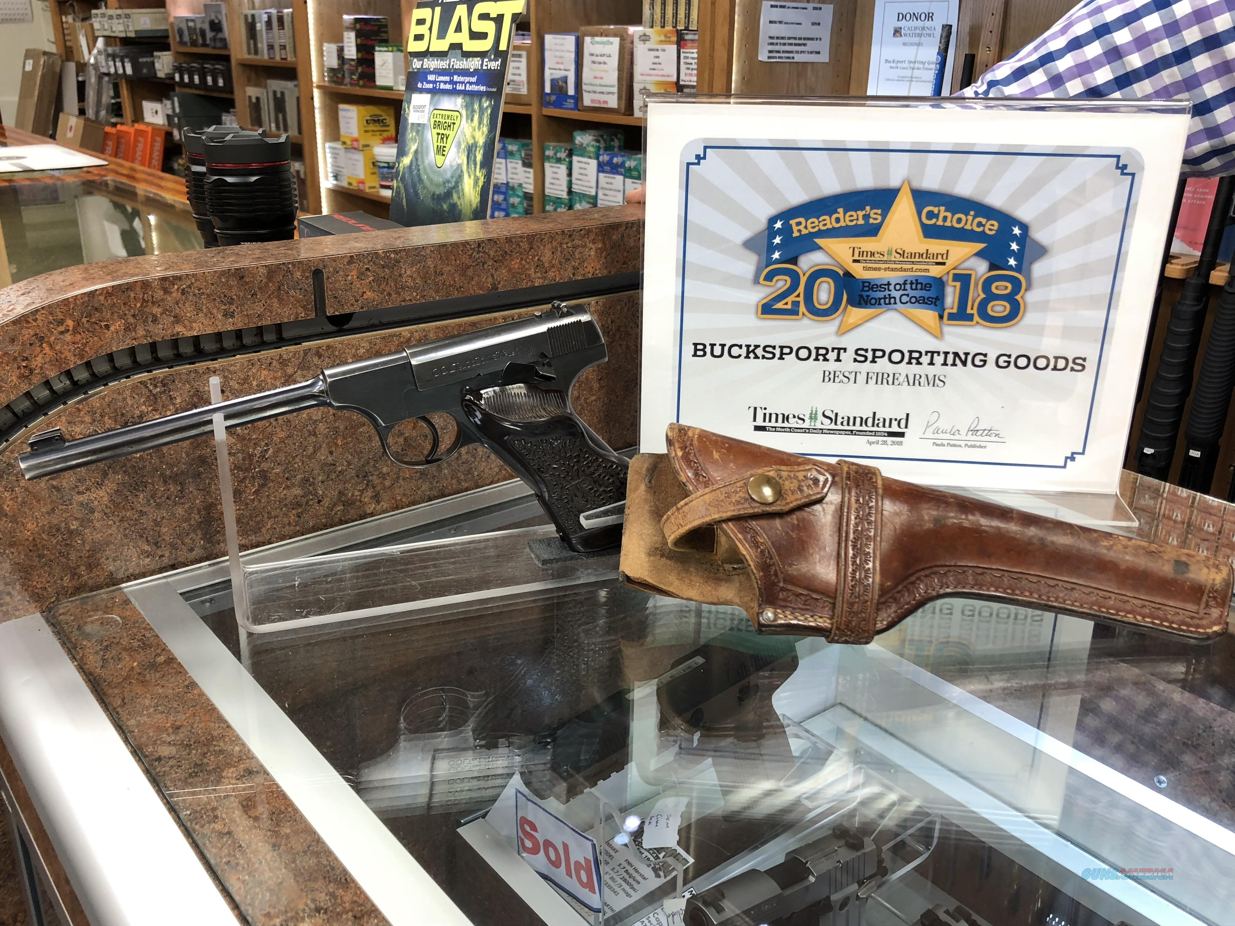 """Colt """"Pre Woodsman""""  Guns > Pistols > Colt Automatic Pistols (22 Cal.)"""