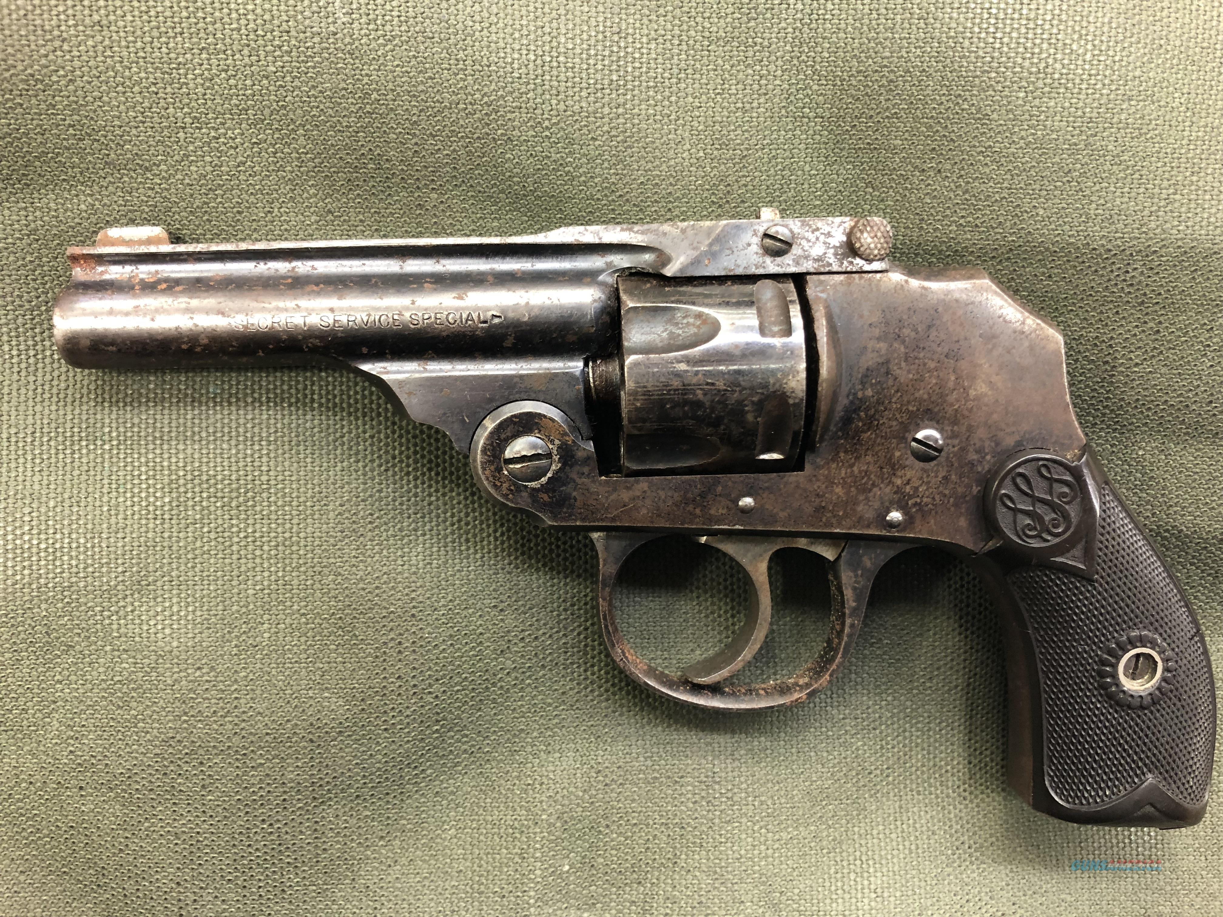 Smith & Wesson Secret Servie Special 32 cal.  Guns > Pistols > Smith & Wesson Revolvers > Small Frame ( J )