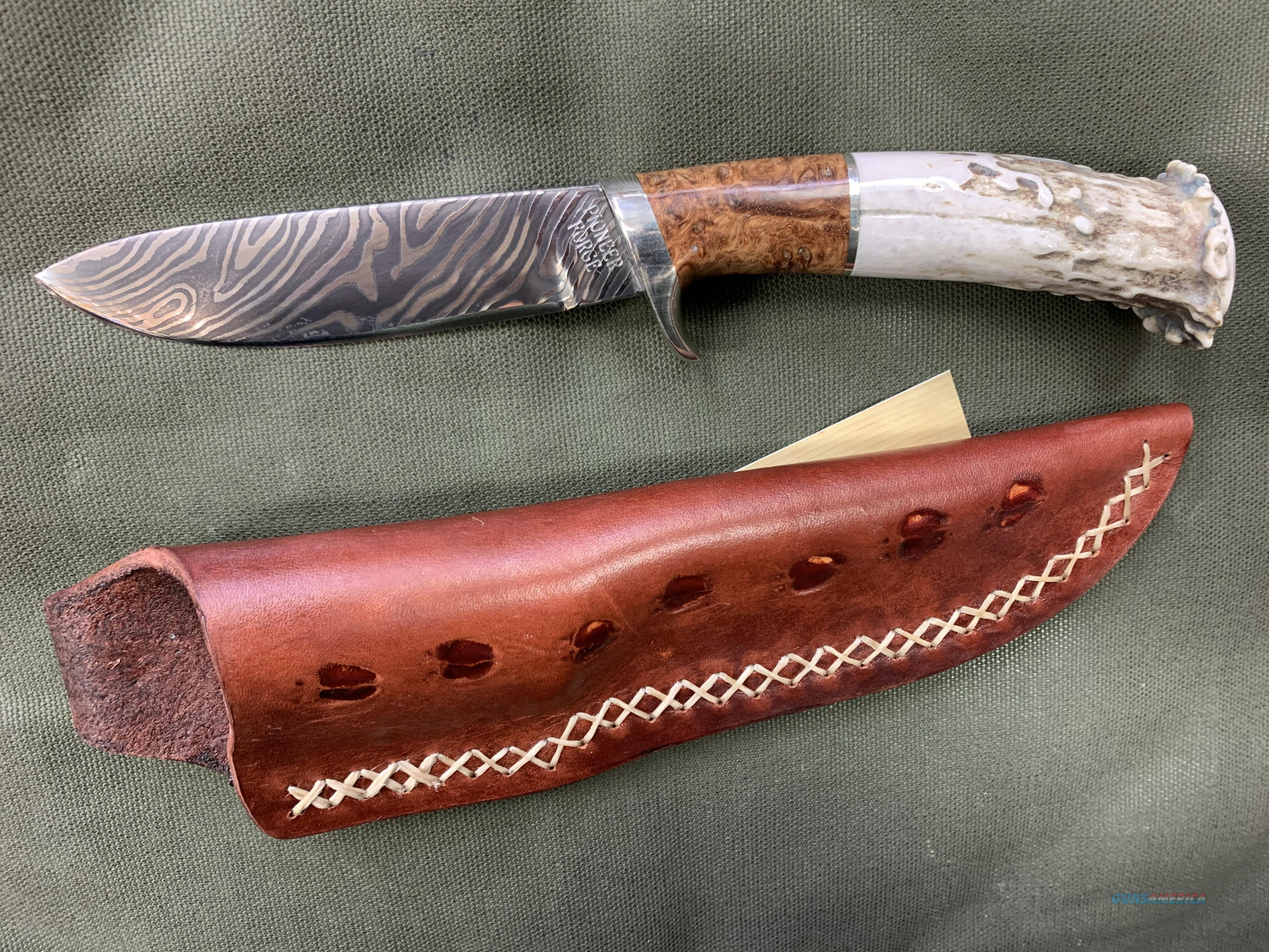 Pioneer Forge Custom  Non-Guns > Knives/Swords > Knives > Fixed Blade > Hand Made