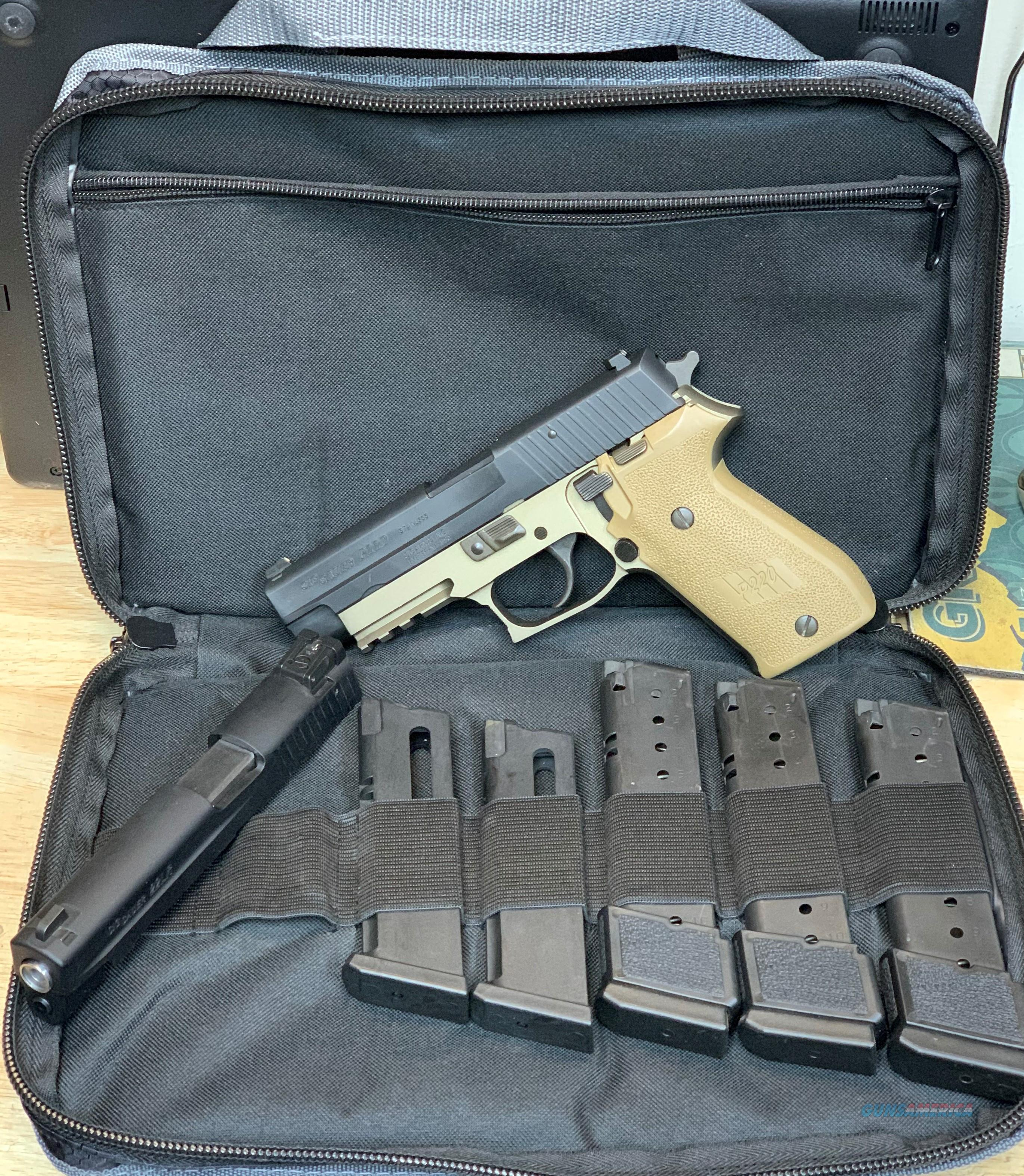 Sig P220 Combat with 22 Conversion  Guns > Pistols > Sig - Sauer/Sigarms Pistols > P220