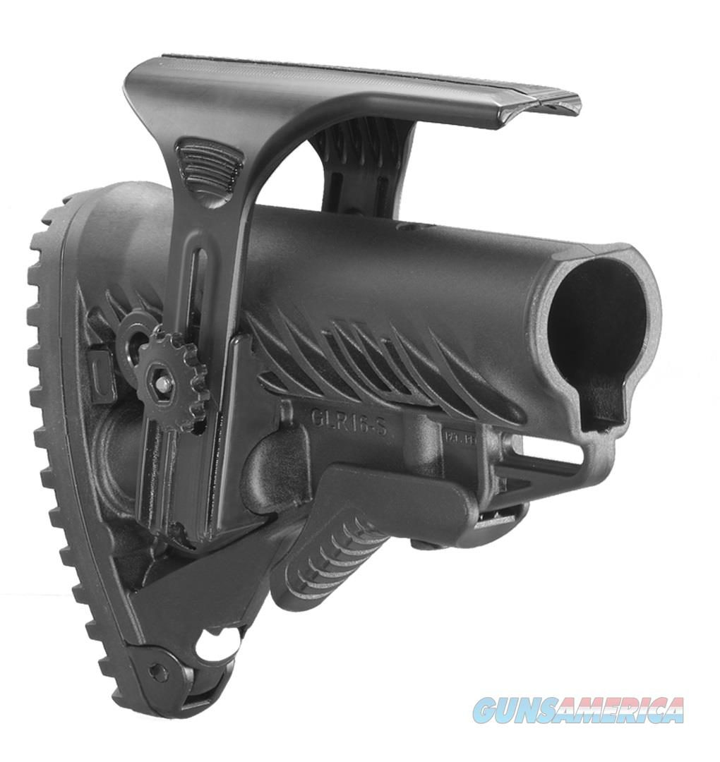 GLR-16 CP Fab Defense Tactical Buttstock with Adjustable Cheek Rest  Non-Guns > Gunstocks, Grips & Wood