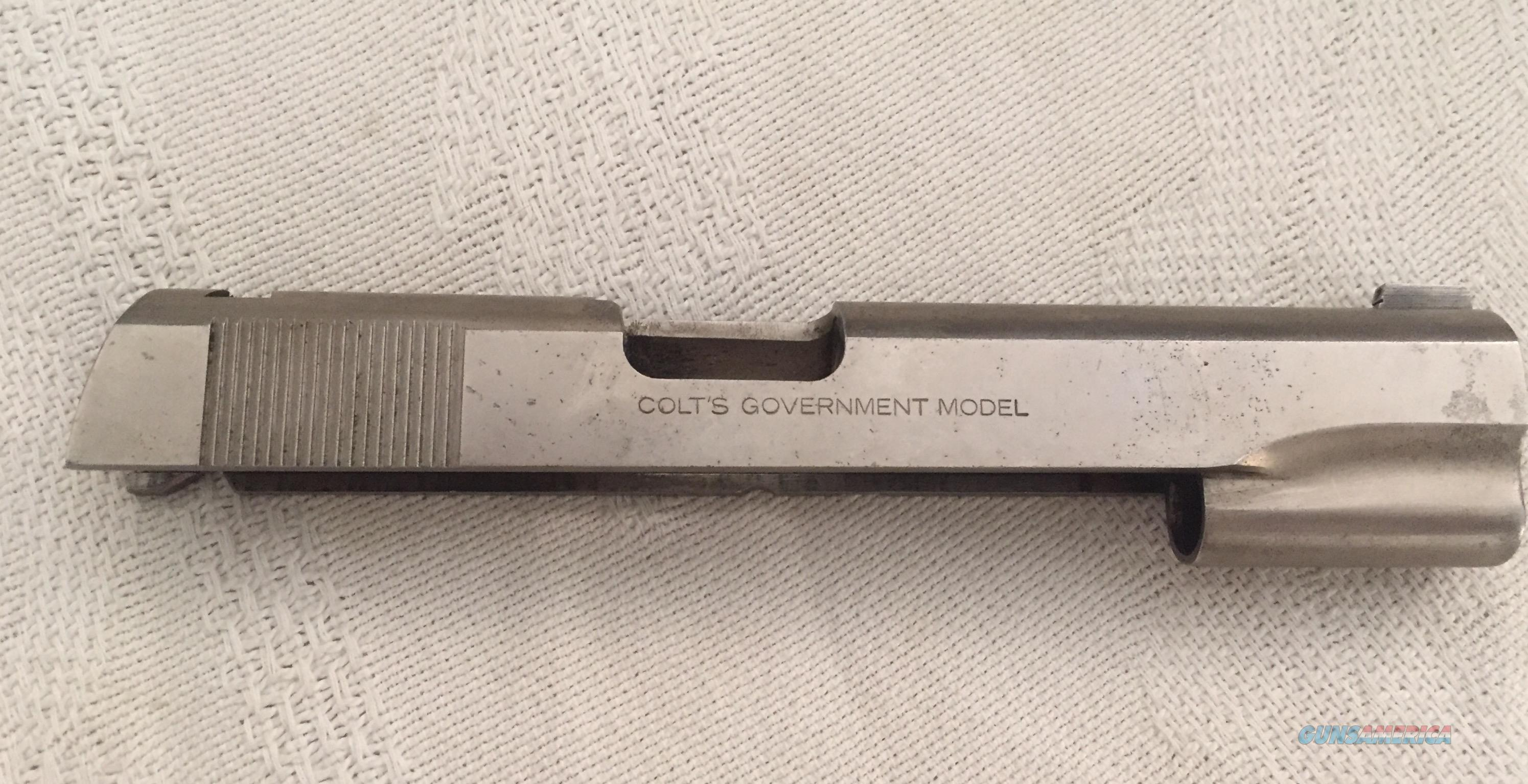 Colt Government Slide  Non-Guns > Gun Parts > 1911