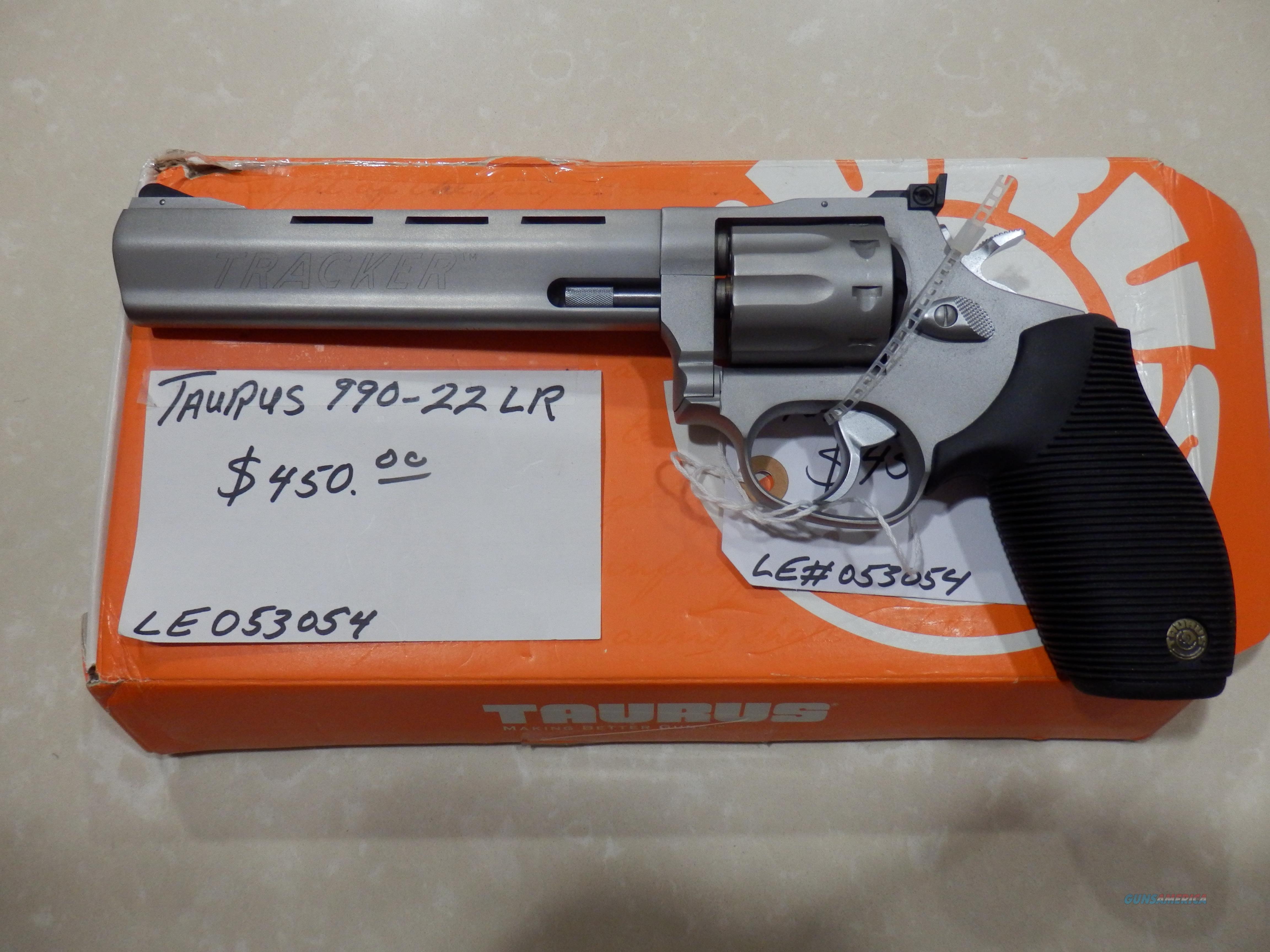 Tuarus 990-22LR  Guns > Pistols > Taurus Pistols > Revolvers