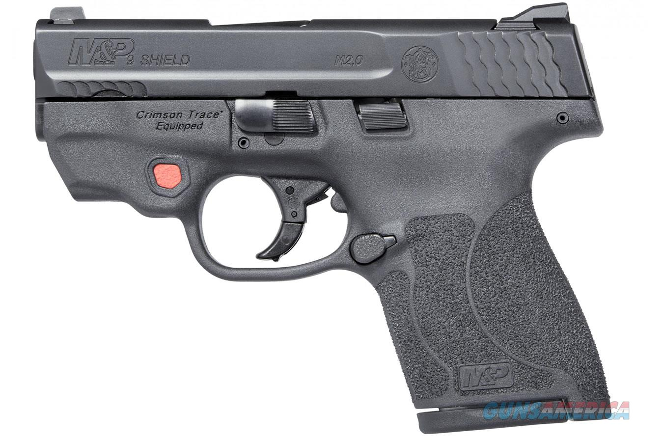 M&P9 Shield M2.0 with Integrated Crimson Trace Laser  Guns > Pistols > Smith & Wesson Pistols - Autos > Shield