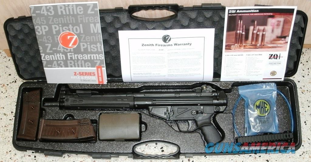 New Zenith MKE Z43P 5.56 hk33 hi 93 pistol .223  Guns > Pistols > Zenith > Zenith Pistols