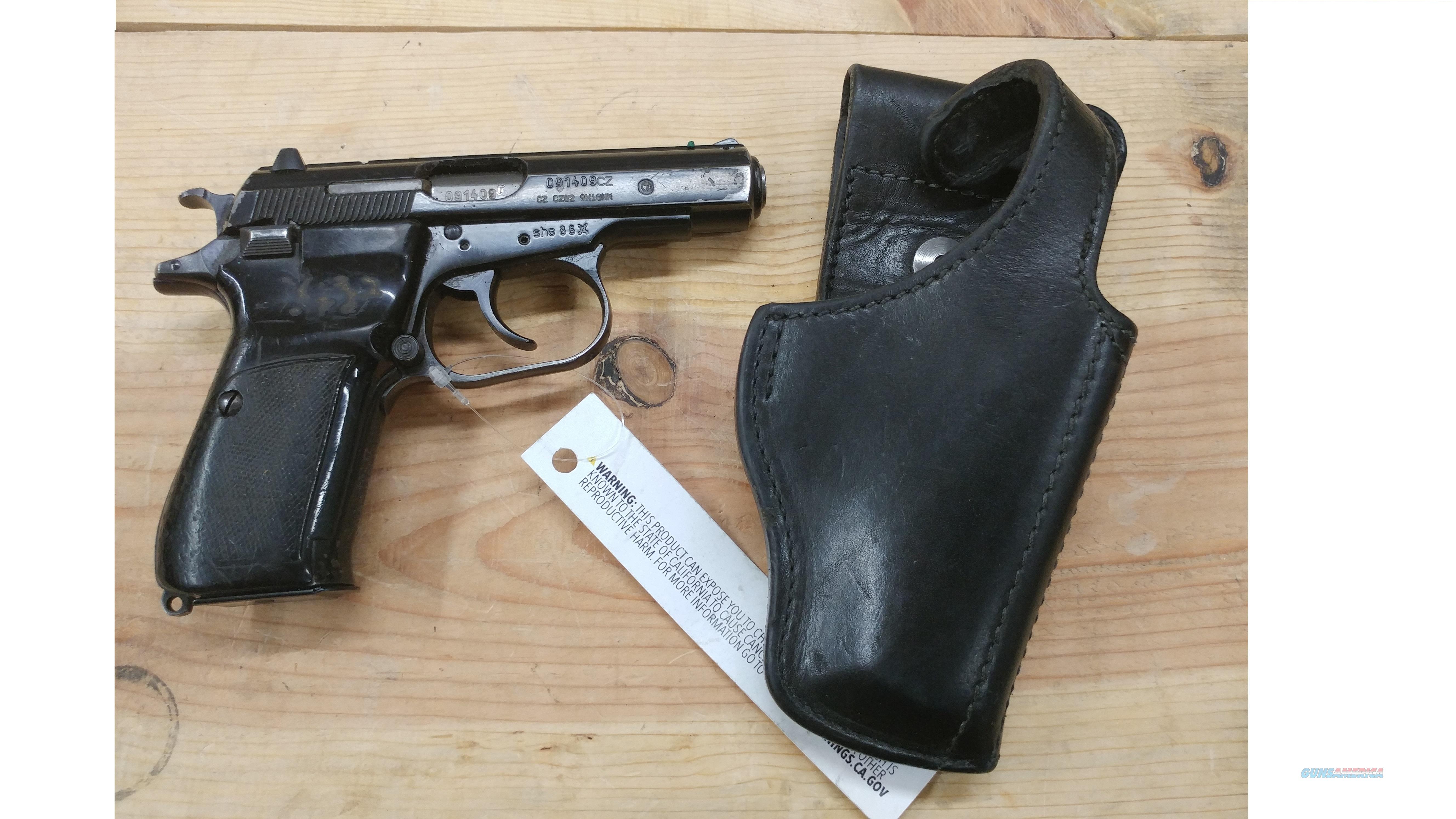 Newly Imported Czech Cz82 pistol 9mm Mak Makarov not 83 + Holster  Guns > Pistols > CZ Pistols