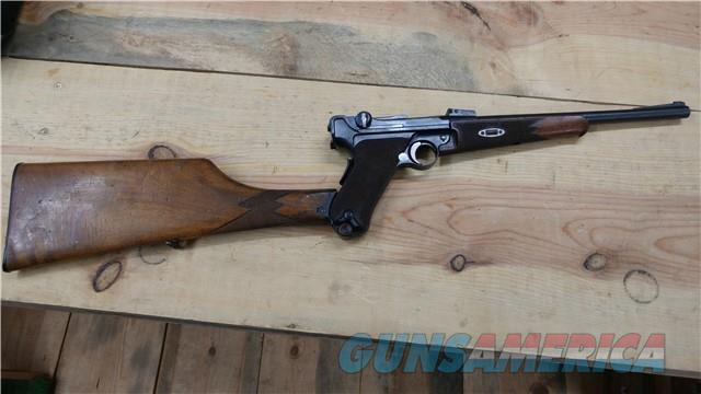 1902 Luger Carbine Original Rare W/ Shoulder Stock  Guns > Pistols > Luger Pistols
