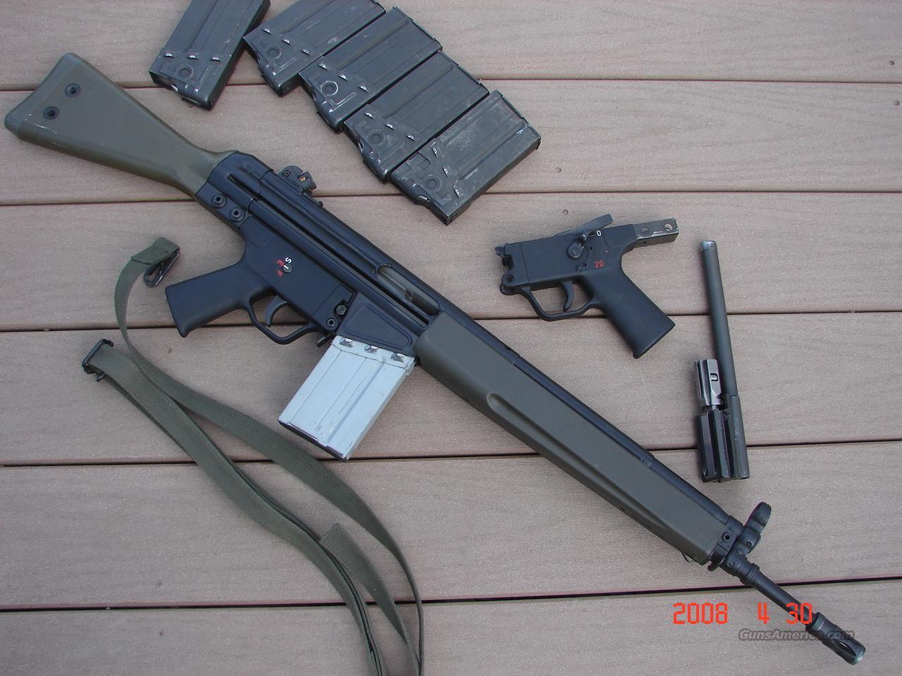 Lewis Auto Sales >> HK G3 rifle for sale