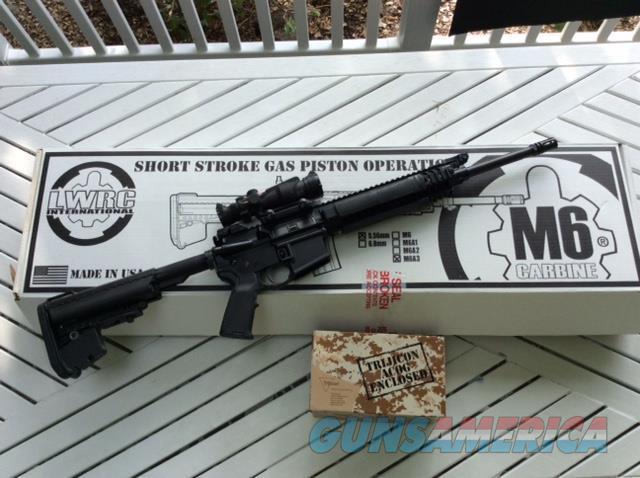 LWRC M6A3 Carbine - Short Stroke Piston  Guns > Rifles > LWRC Rifles