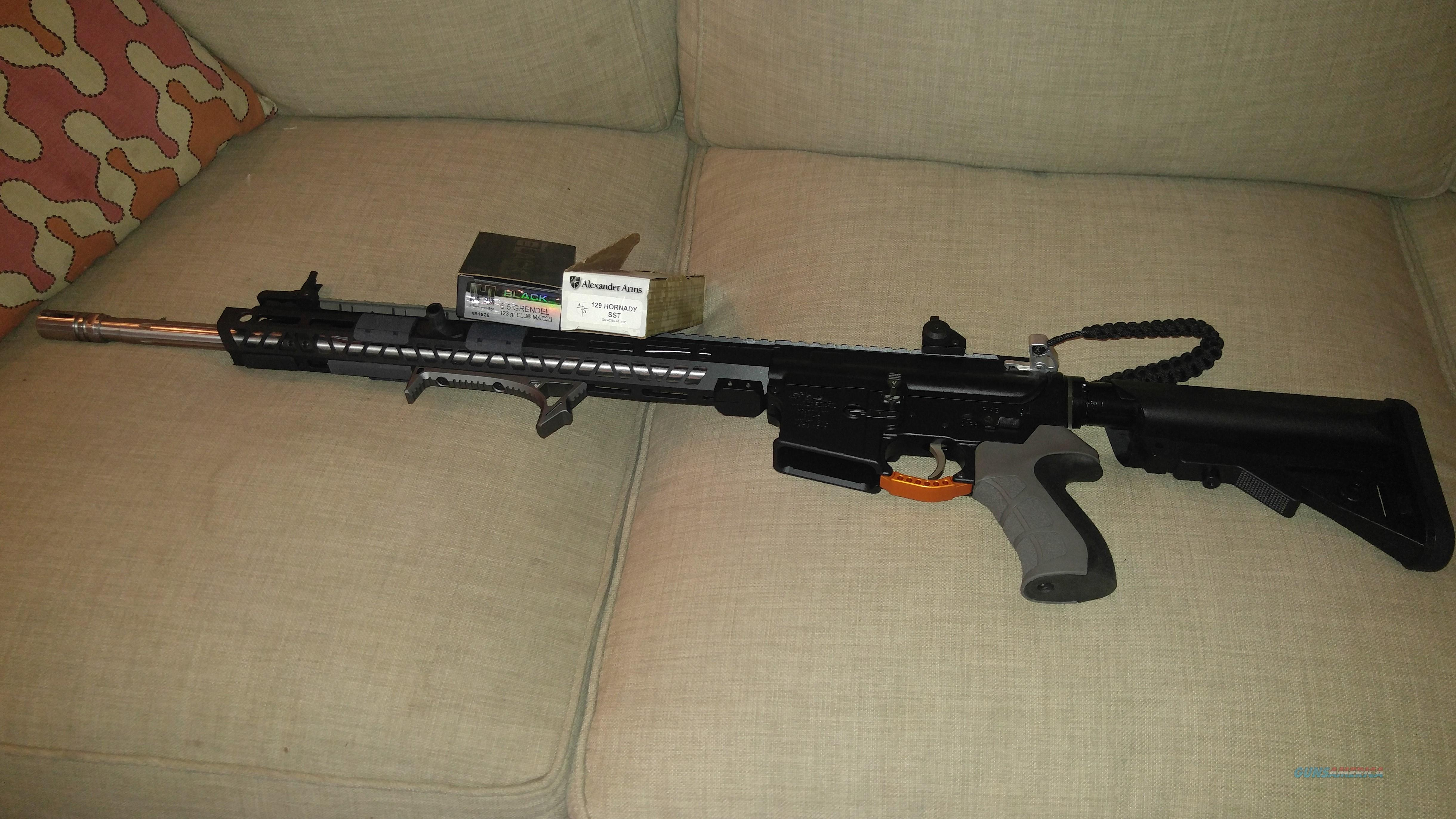 6.5 Grendel Stainless Fluted Barrel  Guns > Rifles > AR-15 Rifles - Small Manufacturers > Complete Rifle