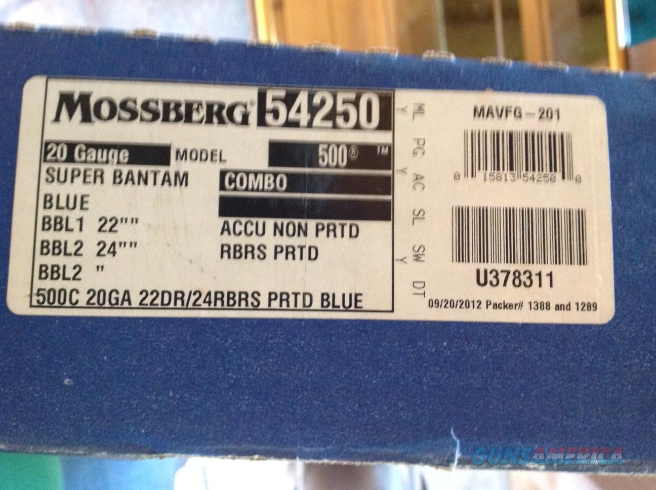 Mossberg 500 Super Bantam Combo #54250  Guns > Shotguns > Mossberg Shotguns > Pump > Sporting