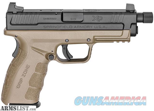 *-*-*-*-* Springfield XD 9 Mod. 2, Service, Threaded FDE, 9mm, NEW *-*-*-*-*  Guns > Pistols > Springfield Armory Pistols > XD-Mod.2