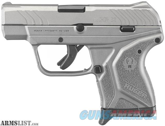 *-*-*-*-* Ruger LCP II, .Stainless Cerakote, .380 ACP, NEW *-*-*-*-*  Guns > Pistols > Ruger Semi-Auto Pistols > LCP