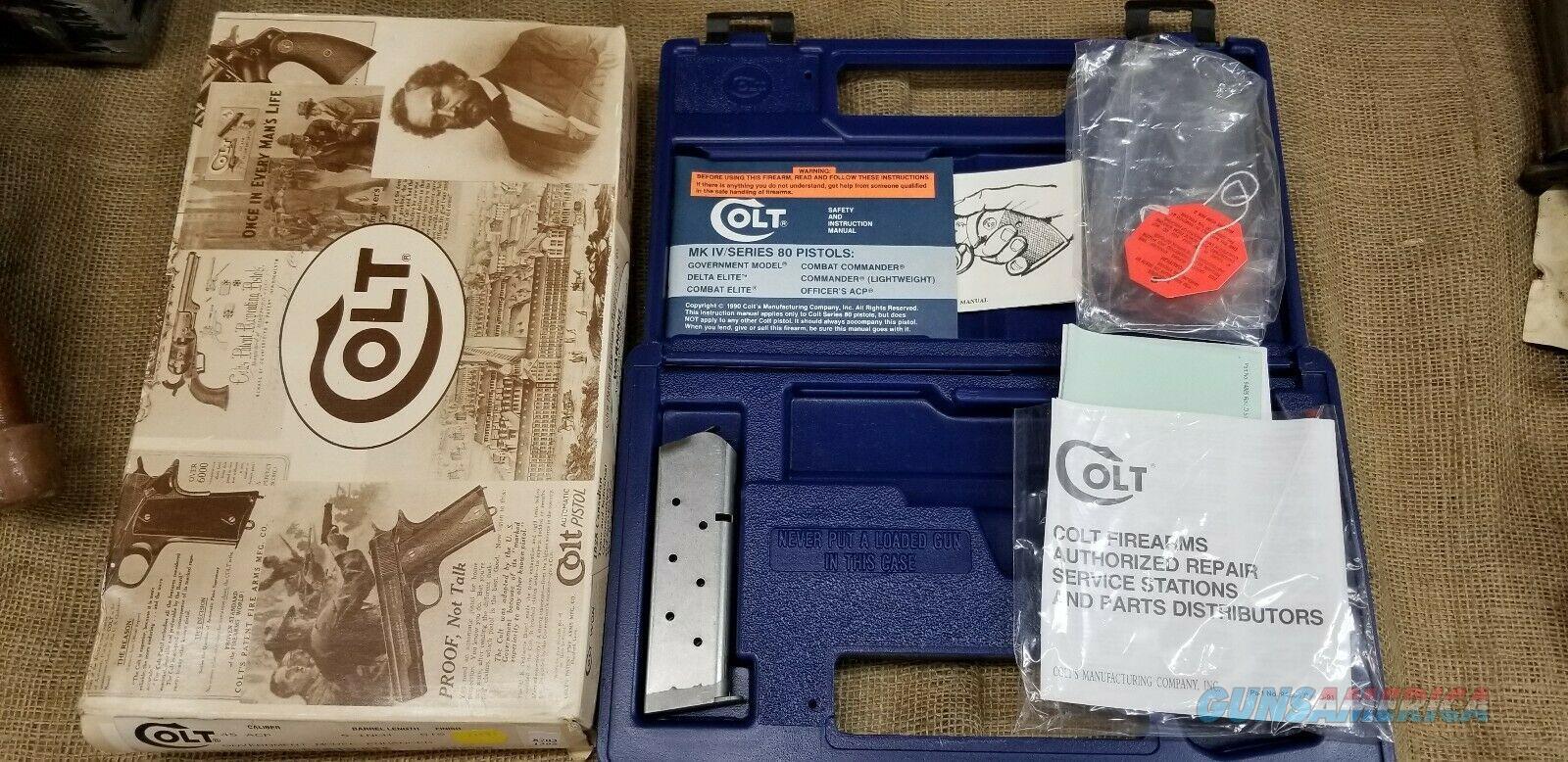 Colt Government Model Enhanced with Magazine  Non-Guns > Gun Cases